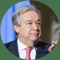 ANTÓNIO GUTERRES UN Secretary-General